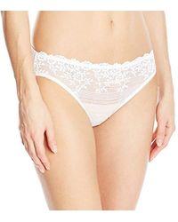 8fd4557d75064 Wacoal - Embrace Lace Bikini Panty - Lyst