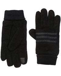Levi's - Suede Gloves With Knit Grip And Touchscreen Capability - Lyst