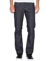Naked & Famous - Featherweight Dungaree Selvedge Weird Guy Jean - Lyst