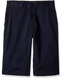 Izod - Uniform Young Flat Front Short - Lyst
