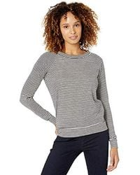 Alternative Apparel - Slouchy Striped Eco-jersey Pullover - Lyst