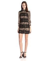Tracy Reese - Puff Sleeve Shift Dress - Lyst