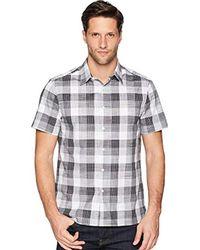 Perry Ellis - Essential Plaid Pattern Shirt - Lyst