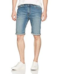 b121b5d6d0fe Lyst - Calvin Klein Jeans Mens 100% Cotton Flat Front Cargo Shorts ...