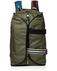 DIESEL - Keep The Flaw F-law Back-backpack, Olive Night, One Size - Lyst