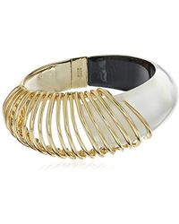Alexis Bittar - Coiled Hinge Bangle Bracelet - Lyst