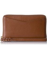 Fossil - Caroline Rfid Phone Wallet - Lyst