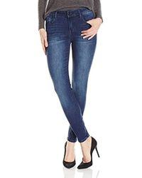 Kensie - Stretch Ankle Biter Jeans - Lyst