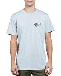 Volcom - Kurrent Short Sleeve Tee - Lyst