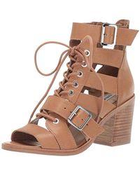 17e048d6f63a Lyst - Steve Madden Critikal Platform Sandals in Brown