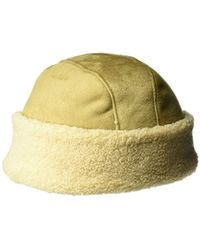 aafc7007 Kangol Faux Fur Flat Cap for Men - Lyst