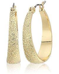 33e247e4c Tory Burch Logo Flower Resin Stud Earrings - Tortoise/Shiny Gold in ...