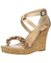Charles David - Lauryn Wedge Sandal - Lyst