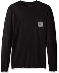 Rip Curl - Punch Heritage Pocket Long Sleeve Tee - Lyst