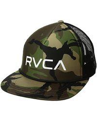 RVCA - Foamy Trucker Hat - Lyst