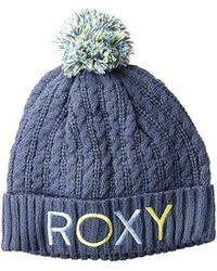 Roxy - Fjord Snow Beanie, - Lyst