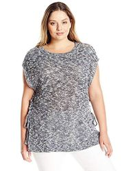 Lucky Brand - Plus Size Marled Pullover - Lyst