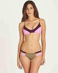Billabong - Surf Capsule Trilet Bikini Top - Lyst