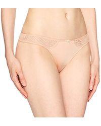 Heidi Klum - Perfectly T-shirt Bra Thong-nude - Lyst