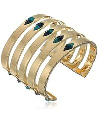 House of Harlow 1960 - The Flip Side Cuff Bracelet - Lyst