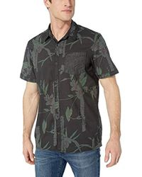 eacaadadd6 Buffalo David Bitton - Short Sleeve Cotton Poplin Shirting Vintage Wash -  Lyst