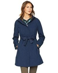 Pendleton - Techrain A-line Belted Coat - Lyst