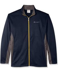 Champion - Tall Full C-vapor With Side Panel Contrast Zip - Lyst 36fc24ba1