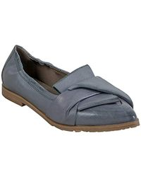 85c859a9ed5c8 Lyst - Sam Edelman Colleen Suede Ballet Flats - Black in Natural
