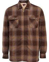 Wolverine - Big And Tall Marshall Full Zip Sherpa Lined Shirt Jacket - Lyst