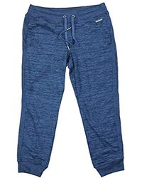 Calvin Klein - Performance Rib Side Inset Crop Jogger - Lyst