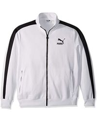 e33759e549 Lyst - PUMA T7 Track Jacket in Black for Men