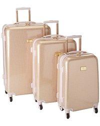 Anne Klein - 3 Piece Hardside Luggage Spinner Set - Lyst