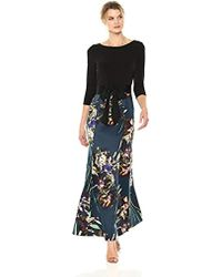 Ellen Tracy - Fall Bouquets Gown - Lyst