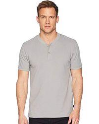 Lucky Brand - Coolmax Bomber Polo Tee Shirt - Lyst