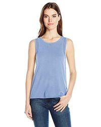 Jones New York - Sweater Tank With Mesh Detail - Lyst