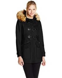 Marc New York - Cara Wool-blend Toggle Coat - Lyst