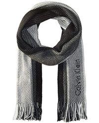 Calvin Klein - Swear Ombre Raschel Muffler Scarf - Lyst