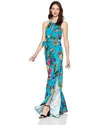 f50dd21bbbb Parker - Megara Sleeveless Tie Waist Full Leg Jumpsuit - Lyst