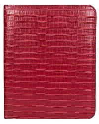 Kenneth Cole Reaction - Classic Size Croco Embossed Pvc Writing Pad - Lyst