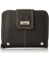 Buxton - Westcott Tab Ziparound Wallet - Lyst