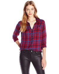 Lucky Brand - Bungalow Plaid Shirt - Lyst