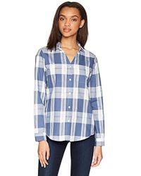 Pendleton - Rockaway Cotton Check Shirt - Lyst