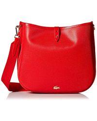 8c208dd5b43104 Lyst - Lacoste Hobo Bag