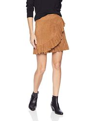 BB Dakota - It's A Vide Ruffle Skirt, - Lyst