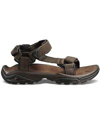 7b0a74e5f617 Lyst - Teva Terra Fi Lite Sports And Outdoor Hiking Sandal in Black ...