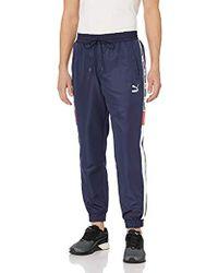 edb1bd6f94e5 Lyst - PUMA T7 Vintage Men s Track Pants in Blue for Men