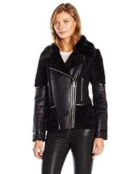 Vince Camuto - Faux Shearling - Lyst