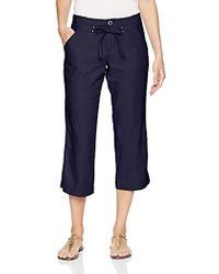 Lee Jeans - Straight Fit Sawyer Capri Pant - Lyst