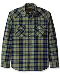Lucky Brand - Santa Fe Western Shirt In Green Multi - Lyst