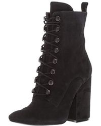 8b5bfa2a723e Lyst - ASOS Bridget Wide Fit Chunky Ankle Boots in Black